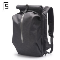 男士双肩包休闲背包电脑包大容量旅行包潮牌大学生书包男时尚潮流