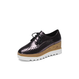 红蜻蜓旗下COOLALA女鞋秋冬休闲鞋板鞋女鞋子HFB7001
