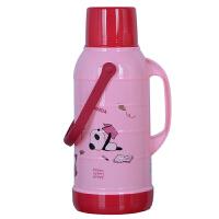 家用学生暖壶热水瓶保温壶玻璃内胆暖瓶加 厚塑料外壳3.2L8磅