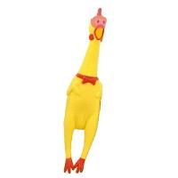 尖叫小公鸡 惨叫鸡绝望的战斗鸡耐咬磨牙宠物发声狗狗玩具狗玩具鸡尖叫鸡