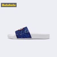巴拉巴拉女童拖鞋凉拖外穿大童居家鞋子新款夏季室内家用鞋女