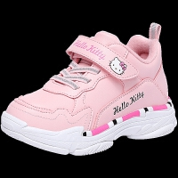 童鞋女童运动鞋冬季新款女孩百搭二棉休闲鞋保暖小白鞋
