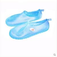 糖果色 潜水鞋 沙滩鞋 防滑鞋 水晶鞋 浮潜用品 透明塑料鞋 洞洞鞋