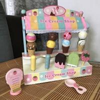 �^家家木制�和�玩具�N房�N具套�b面包烤箱3-6�q女孩生日�Y物