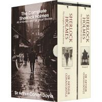 【78�x3】福��摩斯探案全集英文原版小�f 2�院醒b Sherlock Holmes 世界�典�乙赏评�商叫≌f Conan