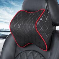 汽车头枕护颈枕用品靠枕记忆棉座椅颈椎车内车载车用枕头车座颈枕