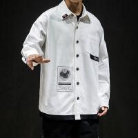 )胖子5XL大码男装新款衬衫式夹克标准型加肥加大230斤