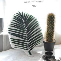 我家有个植物园风ins绿色植物树叶沙发抱枕靠垫套含芯靠枕