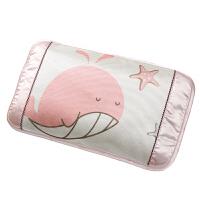 新生婴儿枕头0-1岁夏季透气吸汗夏天冰丝凉爽宝宝定型凉枕可拆洗