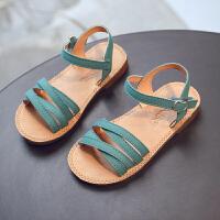 女童凉鞋韩版宝宝夏季新款公主鞋滑软底露趾凉鞋儿童鞋休闲