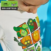 【专区任选3件99元】小虎宝儿男童短袖t恤2020新款中大童洋气印花儿童上衣纯棉夏装潮