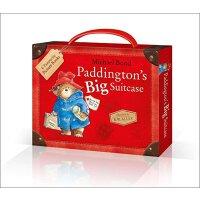 Paddington's Big Suitcase 英文原版 帕丁顿大开本 6本套装
