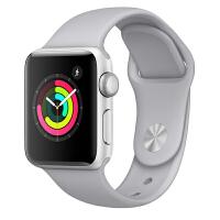 【当当自营】Apple Watch Series 3智能手表(GPS款 38毫米 银色铝金属表壳 云雾灰色运动型表带