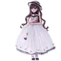 娃娃换装60厘米芭比娃娃洋套装KD/SD/BJD新娘bjd女孩玩具款卡瑞娜 珍藏款 古妮尔