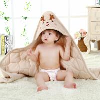 春秋冬婴儿抱被厚彩棉抱毯被子宝宝包布包被襁褓裹布春季