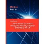 【预订】Exam Prep for International Economics: Theory and Polic