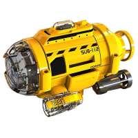 儿童船模型玩具小型水下遥控带摄像头拍照防水潜水艇男孩电动