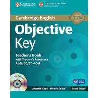 【预订】Objective Key Teacher's Book with Teacher's Resources A