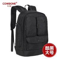 牛之骨双肩包女男韩版休闲电脑包大容量旅行背包学院风中学生书包