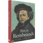 This is Rembrandt 这是伦勃朗 英文原版 This is这就是系列艺术家小传故事 大师作品画集 Lau