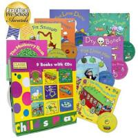 [现货]Childs Play 儿歌洞洞书 9册9CD套装