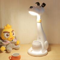 护眼台灯儿童书桌学习触摸可调光防近视灯