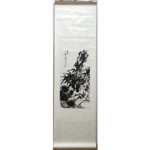 潘天寿_经典国画水墨作品_36-69_轴_9500