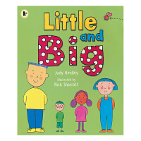 【首页抢券300-100】Little and Big 小与大 幼儿启蒙故事进口读物 亲子共读 启蒙 进口英文原版绘本