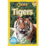 National Geographic Readers, Level 2: Tigers 美国《国家地理》杂志-儿童科普分级阅读,第2级:虎 ISBN9781426309113