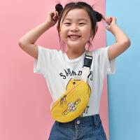 新款儿童小腰包迷你斜挎包男童女童潮包背包时尚宝宝包包