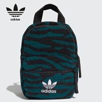 adidas/阿迪达斯小背包三叶草仿绒面双肩包ED5890