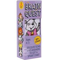 现货 英文原版 Brain Quest Preschool 益智挑战 4-5岁 学龄前