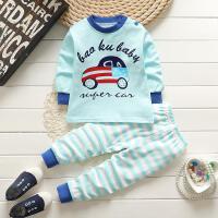 0到1-2岁3小孩子内衣秋裤三周半女宝宝6男童秋衣7八12个月9套装11