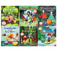 #英文原版 Fairy Tales 经典童话故事系列 6册套装 儿童英语启蒙图画绘本 Nosy Crow Stories Aloud 赠官方音频