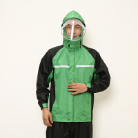 雨衣雨裤套装男加厚防水电瓶车摩托车分体骑行防暴雨雨衣外套