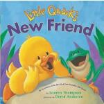【预订】Little Quack's New Friend 9781416949237