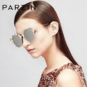 帕森男女偏光太阳镜 时尚情侣复古TR90大框潮墨镜开车驾驶镜9812