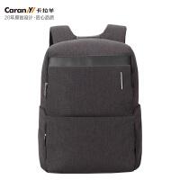 【2件2.9折,1件3.5折】卡拉羊防盗包双肩背包商务电脑包休闲包CS5933