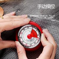 厨房定时器提醒器机械式计时器学生时间管理闹钟家用倒计时番茄钟