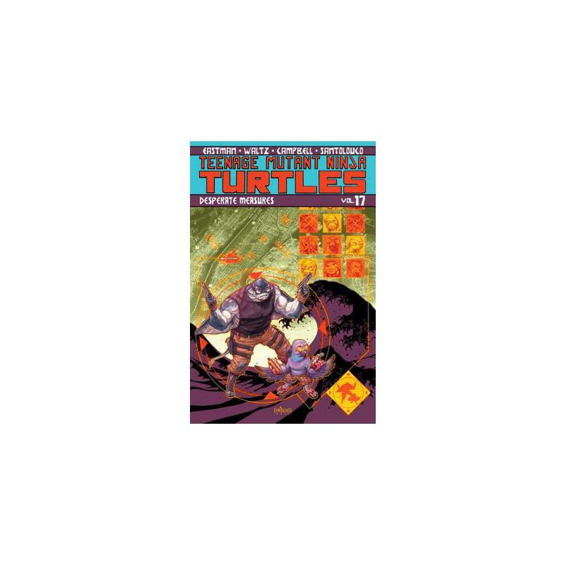 【预订】Teenage Mutant Ninja Turtles Volume 17: Desperate Measures 预订商品,需要1-3个月发货,非质量问题不接受退换货。