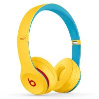 【当当自营】Beats Solo3 Wireless头戴式 蓝牙无线耳机 手机耳机 游戏耳机-学院黄 MV8U2PA/