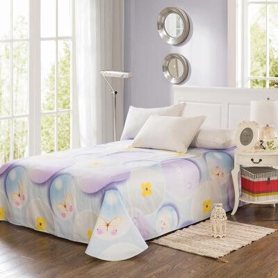 当当优品 纯棉斜纹床上用品 床单200*230cm 魔力圈圈当当自营 100%纯棉 吸汗透气 可贴身裸睡 0甲醛