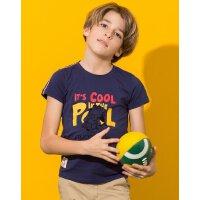 【专区59元3件】加菲猫男童短袖T恤中大童夏装上衣GTW17201
