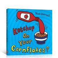 【顺丰速运】英文进口原版绘本 Ketchup On Your Cornflakes 放点番茄酱在玉米片上?吴敏兰推荐书