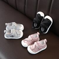 2019春秋女宝宝学步鞋小童儿童软底0--3岁单鞋男童布鞋运动鞋防踢