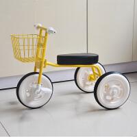 儿童三轮车2-3-4岁宝宝脚踏车幼童自行车轻便婴儿手推车简易单车YW155
