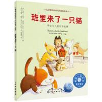 儿童情绪管理与性格培养绘本--班里来了一只猫:学会与人相处的故事