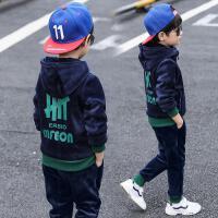 男童套装秋冬季儿童中大童两件套童装