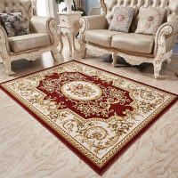 美式沙发地毯客厅茶几毯欧式房间地垫卧室床尾简约现代长方形耐脏y