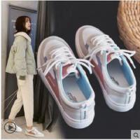 新款女帆布鞋学生韩版运动百搭基础小白鞋女平底板鞋